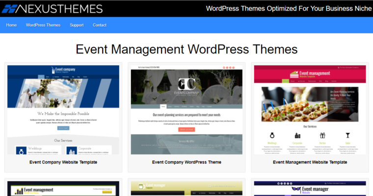 Best WordPress Festival Theme for Professional Theme