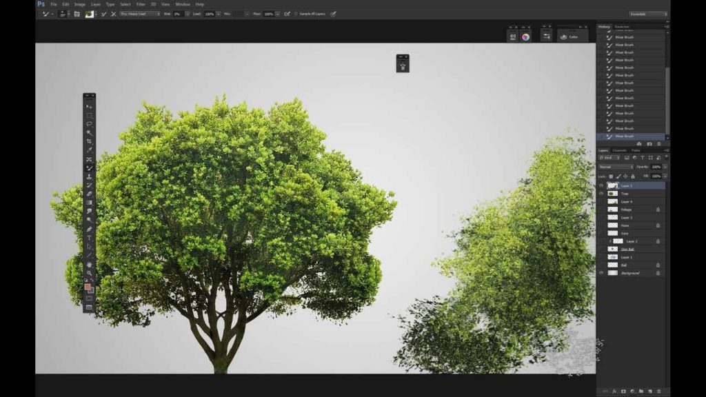 Photoshop Realistic Trees