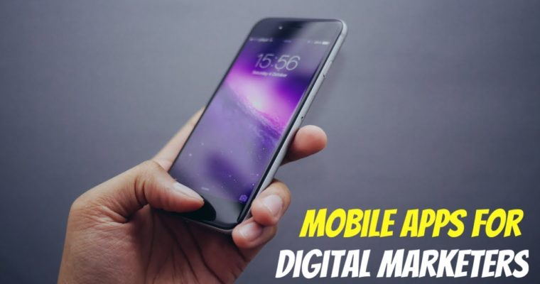 5 iPhone Apps For Digital Marketers
