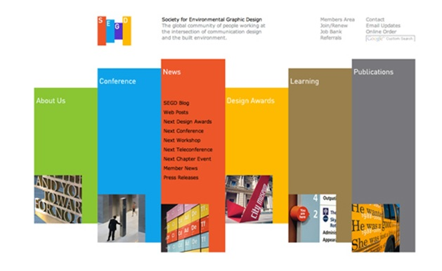 society of environmental graphic design